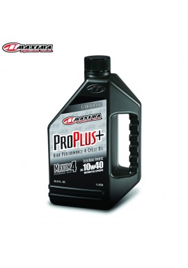 Maxima 4T Pro Plus+ 100% Ester Synthetic (SAE 10w40) 1Litre