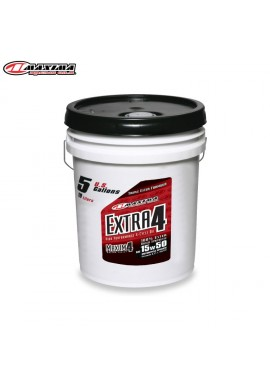 Maxima 4T Extra 4 100% Ester Synthetic (SAE 15w50) 19 Litre (Each)