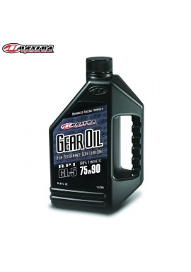 Maxima Gearoil Hypoid 100% Ester Synthetic (SAE 75w90) 1 Litre