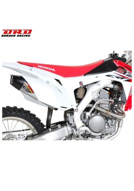 DRD Exhausts Full NS-4 System Stainless/Aluminium Honda CRF250 2014 Single Sided