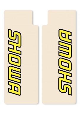 N-Style Upper Fork Decals Showa Yellow
