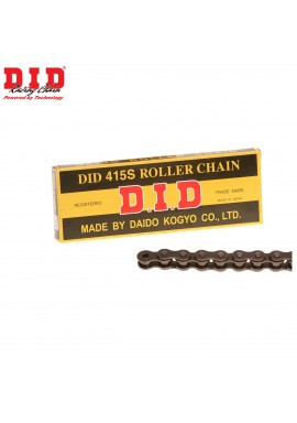 DID Chain 415 x 130 RJ Heavy Duty Black Chain
