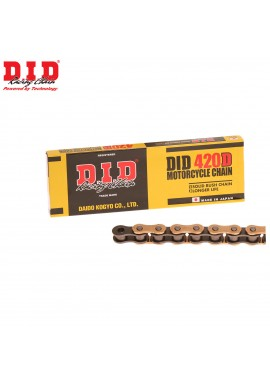 DID Chain 420 x 134 RJ Heavy Duty Gold & Black Chain