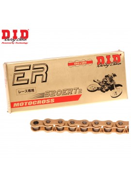 DID Chain 520 x 120 ERT2 Racing Gold Chain