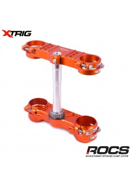 Xtrig ROCS Tech Triple Clamp Set KTM SXF250/350/450 13-16