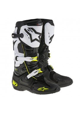 Alpinestars Tech 10 Boots D71 Black White