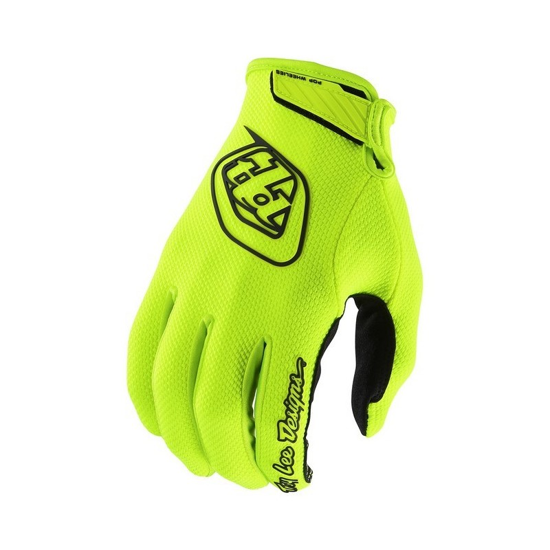 2018 Troy Lee Designs Gp Air Flo Yellow Motocross Gloves