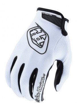 2018 Troy Lee Designs GP Air White Motocross Gloves
