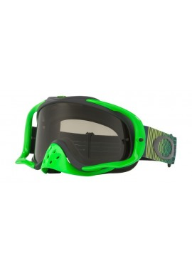 2018 Oakley Crowbar Goggle Shockwave Green/Grey- Dark Grey Lens