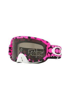 2018 Oakley O Frame 2.0 Troy Lee Designs Faded Dots Pink- Dark Grey Lens
