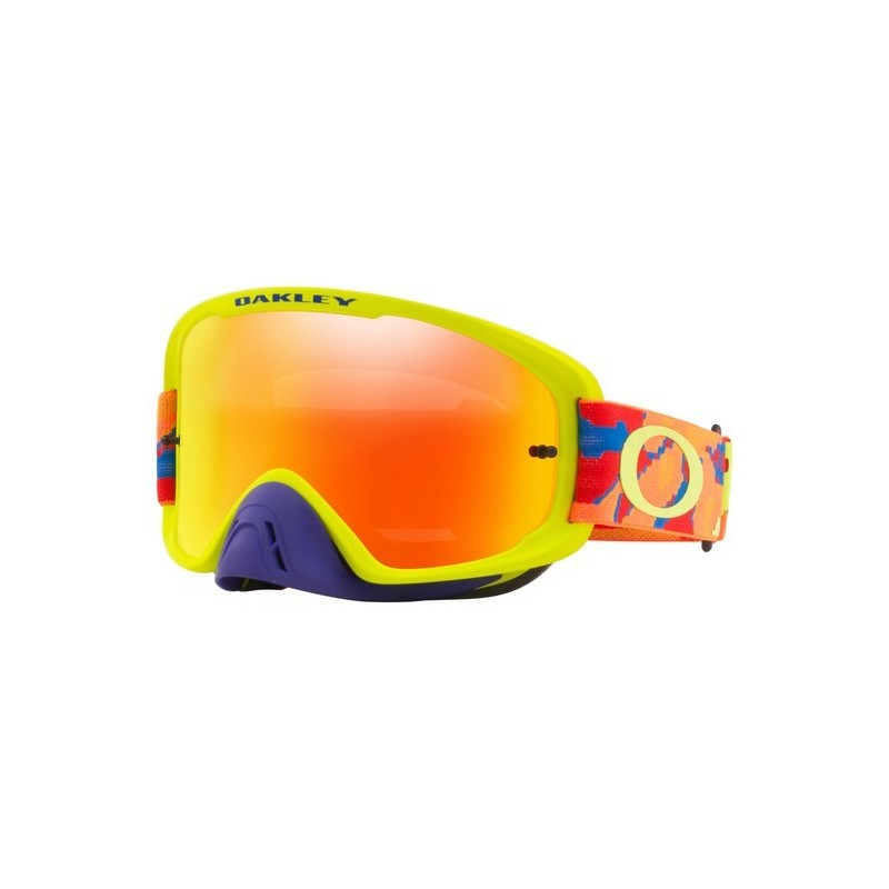 2018 Oakley O Frame Goggle 2.0 Thermo Camo Blue/Orange/Green- Fire ...