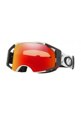 2018 Oakley Airbrake Goggle Matte White Speed- Prizm Torch Iridium