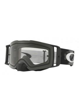 2018 Oakley Front Line Goggle Matte Black- Clear Lens