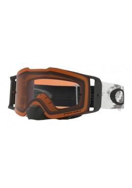 2018 Oakley Front Line Goggle Matte White- Prizm Bronze Lens