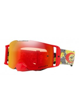 2018 Oakley Front Line Goggle Dazzle Dyno Red- Prizm Torch Iridium Lens