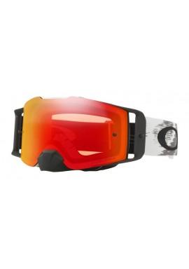 2018 Oakley Front Line Goggle Matte White- Prizm Torch Iridium Lens