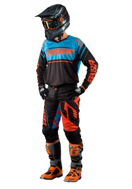 2018 ANSWER A18 TRINITY BLACK/BLUE MOTOCROSS KIT COMBO