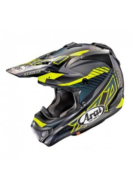 2018 Arai MX-V Motocross Helmet - Slash Black