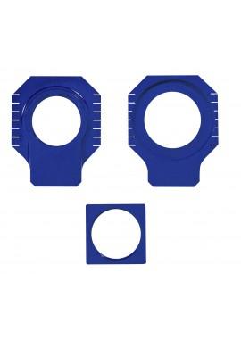 Apico KTM / Husqvarna Axle Blocks SX/SX-F 125-530 00-12, EXC/EXC-F125-530 00-16 - Blue