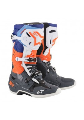 Alpinestars Tech 10 Boots Grey/Orange
