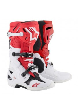 Alpinestars Tech 10 Boots Red/White
