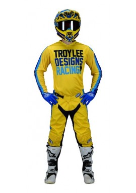 Troy Lee Designs 2019 GP Air spring pre mix 86 yellow Motocross Kit
