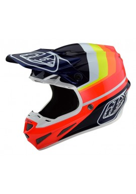 2019 Troy Lee Designs SE4 Carbon Mirage motocross helmet