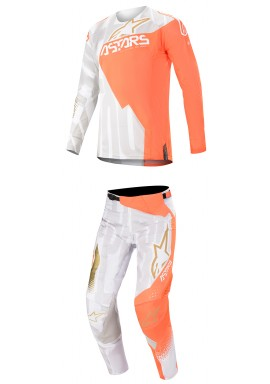 2020 Alpinestars Techstar Factory Metal Motocross Kit - Orange