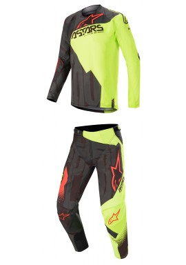 2020 Alpinestars Techstar Factory Motocross Kit - Yellow/Green