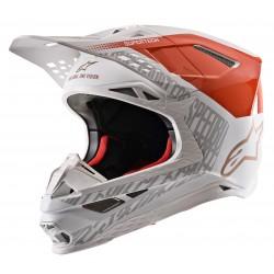 2020 Alpinestars Supertech M8 Triple Motocross Helmet