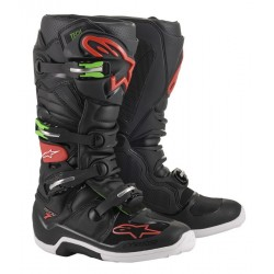 Alpinestars Tech 7 Boots Black/green