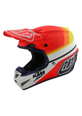 TROY LEE DESIGNS 19FALL SE4 COMPOSITE HELMET KTM MIRAGE