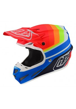 TROY LEE DESIGNS 19FALL SE4 COMPOSITE HELMET MIRAGE BLUE/RED