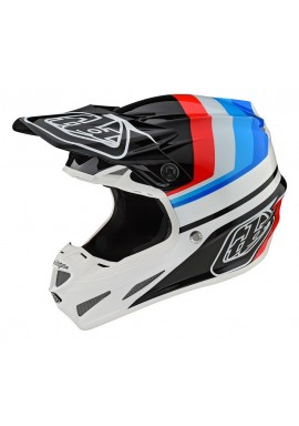 TROY LEE DESIGNS 19FALL SE4 COMPOSITE HELMET MIRAGE WHITE/BLACK