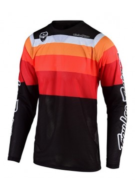 TROY LEE DESIGNS 19FALL SE AIR KIT SPECTRUM ORANGE/BLACK