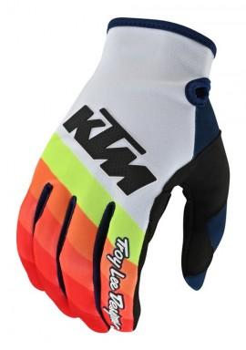 TROY LEE DESIGNS 19FALL SE PRO GLOVE KTM MIRAGE WHITE/RED