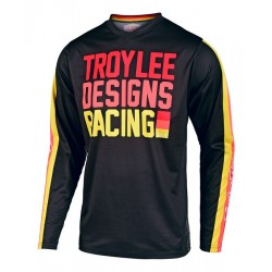 TROY LEE DESIGNS 19FALL GP YOUTH JERSEY PREMIX 86 BLACK/YELLOW