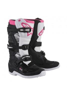Alpinestars Tech 3 Boots White/pink Stella