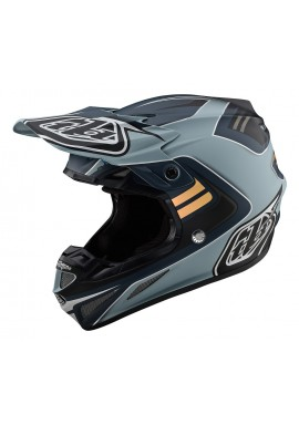 TROY LEE DESIGNS 2020 SE4 COMPOSITE HELMET FLASH GREY/SILVER