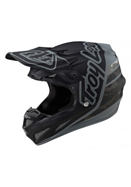 TROY LEE DESIGNS 2020 SE4 COMPOSITE HELMET SILHOUETTE BLACK/CAMO