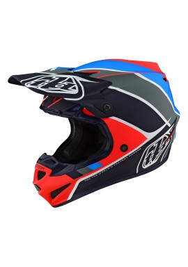TROY LEE DESIGNS 2020 SE4 POLYACRYLITE BETA ORANGE/NAVY