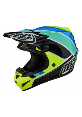 TROY LEE DESIGNS 2020 SE4 POLYACRYLITE BETA YELLOW/BLACK