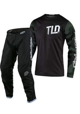 2020 Troy Lee Designs TLD GP CAMO Motocross Gear Green Black