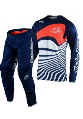 2020 Troy Lee Designs TLD GP DRIFT Motocross Gear Navy Orange