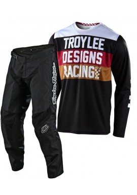 2020 Troy Lee Designs TLD GP CONTINENTAL Motocross Gear Black