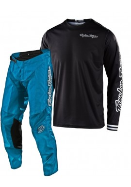 2020 Troy Lee Designs TLD GP MONO Motocross Gear Black Ocean
