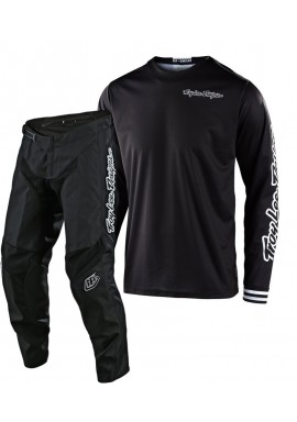 2020 Troy Lee Designs TLD GP MONO Motocross Gear Black