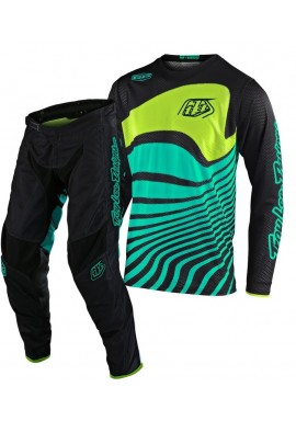 2020 Troy Lee Designs DRIFT Youth Kids TLD GP Air Motocross Gear Black Turquoise