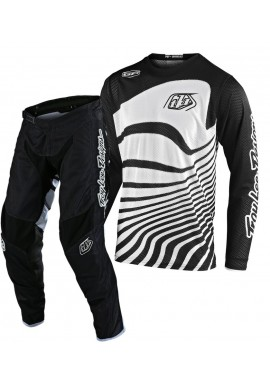 2020 Troy Lee Designs TLD GP AIR DRIFT Motocross Gear Black White