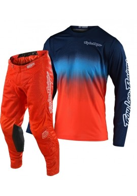 2020 Troy Lee Designs TLD GP AIR STAIND Motocross Gear Orange Navy